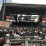 ナッシュビルでMUSEのコンサートに行った(2017年):その1、会場入りと前座