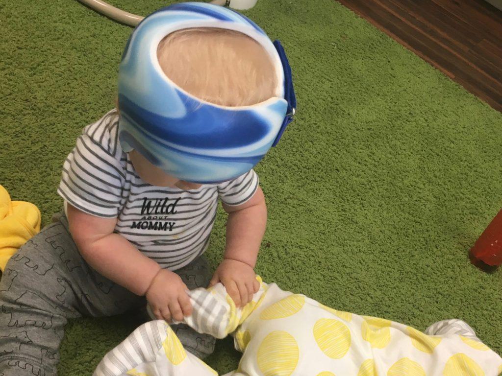 友達のヘルメット